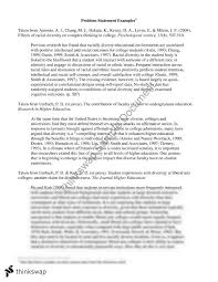 Research Problem Statement Examples Problem Statement Examples Mgb220 Human Resource