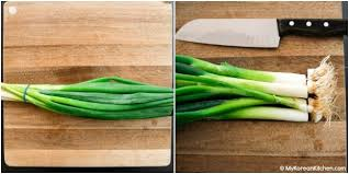 how to green onions scallions