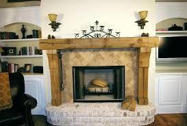 wood fireplace mantels rustic wooden mantel surround kit