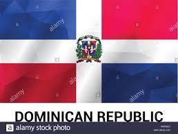 Dominican Flag Design Dominican Republic Flag Design Vector Stock Vector Art