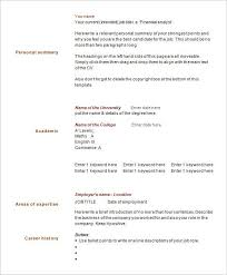41+ One Page Resume Templates - Free Samples, Examples, &