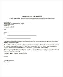 Business Invitation Letter Format - Letter Of Recommendation