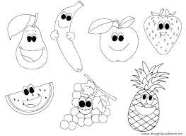 Coloring Pages Vegetables Printable Fruit Coloring Pages Vegetables