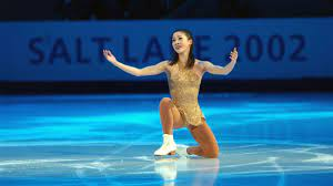 Athlete. Olympian. Chinese American. Michelle Kwan is the center of sports'  Venn diagram