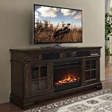 tv fireplace stand. san andorra 66\ tv fireplace stand