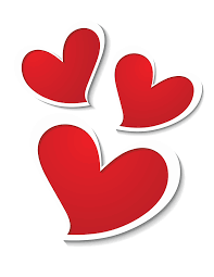 Three Hearts Decor PNG Clipart Picture | Gallery Yopriceville -  High-Quality Images and Transparent PNG Free Clipart