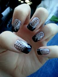 Halloween Gel Nail Designs 2018 Awesome Spider Nails Halloween Nails Halloween Nail Art