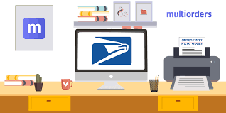 Online Shipping Labels How To Print Usps Shipping Labels Online With Multiorders Multiorders