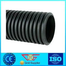 corrugated drain pipe new hot s black pi 3 home depot slope