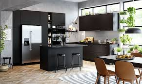 Learn more about different cabinet design styles to determine your design preferences and discover which cabinet style is right for you. 80 Black Kitchen Cabinets The Most Creative Designs Ideas Interiorzine