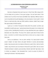 example personal essays sample essay for college narrative   example personal essays 2 autobiographical essay