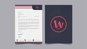 Making A Letter Head How To Design Letterhead And Letter Cover In Illustrator