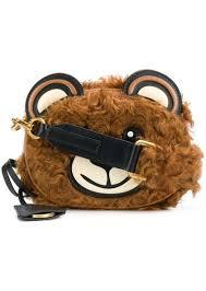 moschino teddy bear cross bag
