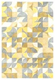 orange geometric rug uk yellow pattern rugs area brilliance contemporary gray