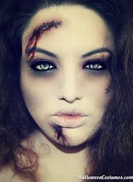 zombie makeup for costumes 2017