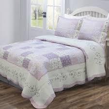 Cozy Line Home Fashion Love of Lilac Quilt Set & Reviews | Wayfair &  Adamdwight.com