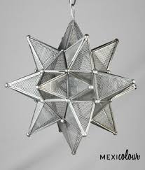 moravian star lamp grid tin handcrafted pendant light