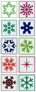 Free Snowflake Machine Embroidery Designs Snowflake Quilt Blocks Embroidery Machine Design Details