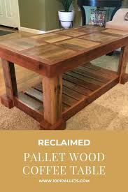 This is what you can do marvelously using the rusticity of pallets, a whole vintage inspired layout of coffee table! Pallet Coffee Table Diy Plans 1001 Pallets
