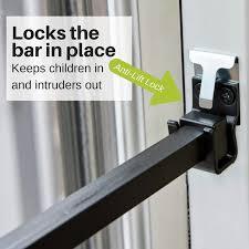 ideal security patio door bar reviews wayfair
