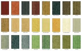 Saman Water Based Stain Color Chart Water Based Woodstain Cineangular Co