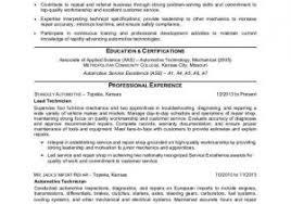Auto Mechanic Resume Templates Auto Mechanic Resume Samples