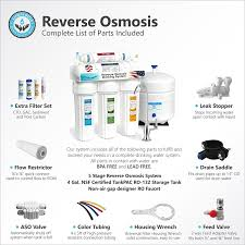 Where To Get Reverse Osmosis Water Express Water 5 Stage Undersink Reverse Osmosis Drinking Water