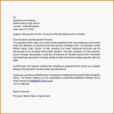 Letter Of Introduction Teacher Demireagdiffusion Beauteous Letter Of Introduction Teacher