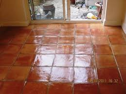 permalink to glazed terra cotta tile flooring