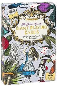The Queen's Guard Giant Playing Cards - Alice in ... - Amazon.com
