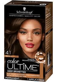 Schwarzkopf Hair Dye Colour Chart