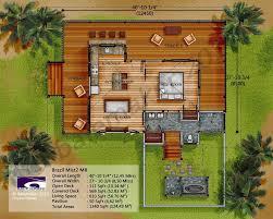 tropical home design plans luxury small casita floor plan costa rica design