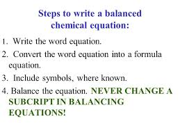 write chemical equation for photosynthesis