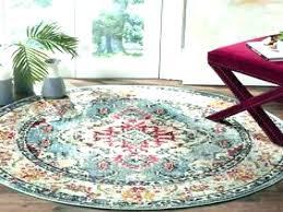 3 feet round rugs foot la gray 6 ft x beautiful oriental bath