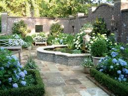 small formal garden design