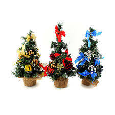 10 mini desk top office bedroom artifical christmas tree with base xmas gift christmas tree office desk