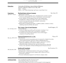 Beautiful Office Resume Format Doc For Back Executive Assistant