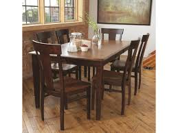 LJ Gascho Furniture Solid Wood Dining Sets Anniversary Solid - Solid wood dining room tables