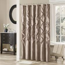 designer fabric shower curtains on