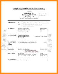 A High School Resume 12 13 What To Put On High School Resume Lascazuelasphilly Com