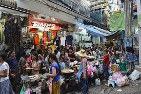 christmas shopping shopping in bangkok