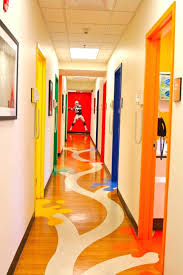 dental office design pediatric floor plans pediatric. Astonishing Pediatric Dental Clinic Fun Use Of Colorful Door Frames Minimalist Office Design Floor Plans E
