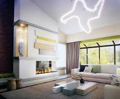 Modern Living Room Decoration Nature And Modern Living Room