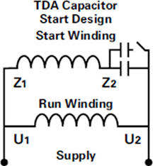 single phase motor wiring diagram with capacitor start wirdig Capacitor Start Motor Wiring Diagram Start Run wiring of a single phase motor , wiring diagram AC Motor Wiring Diagram