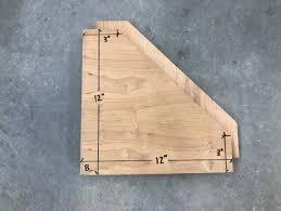 wall mounted laundry folding table diy