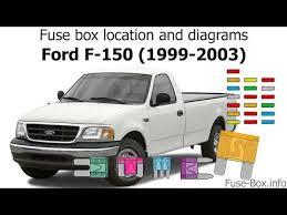 1999 Ford F150 Xlt Fuse Box 1999 F250 Fuse Box Diagram