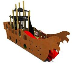 pirate ship if you can dream it we can design and build it for you our talented team of playground designers can work with you to custom design a