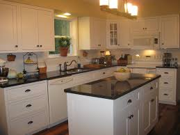 Cream Kitchen Cabinets With Brown Countertops Amazing Tropical