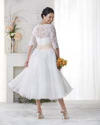 Womens Plus Size Wedding Dresses With Sleeves