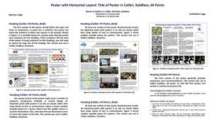 how to make a science poster templates scientific posters